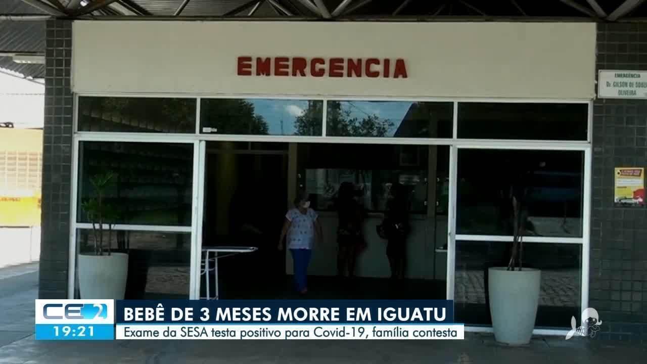 Bebê de 3 meses foi a primeira morte de criança por Covid-19 no Ceará