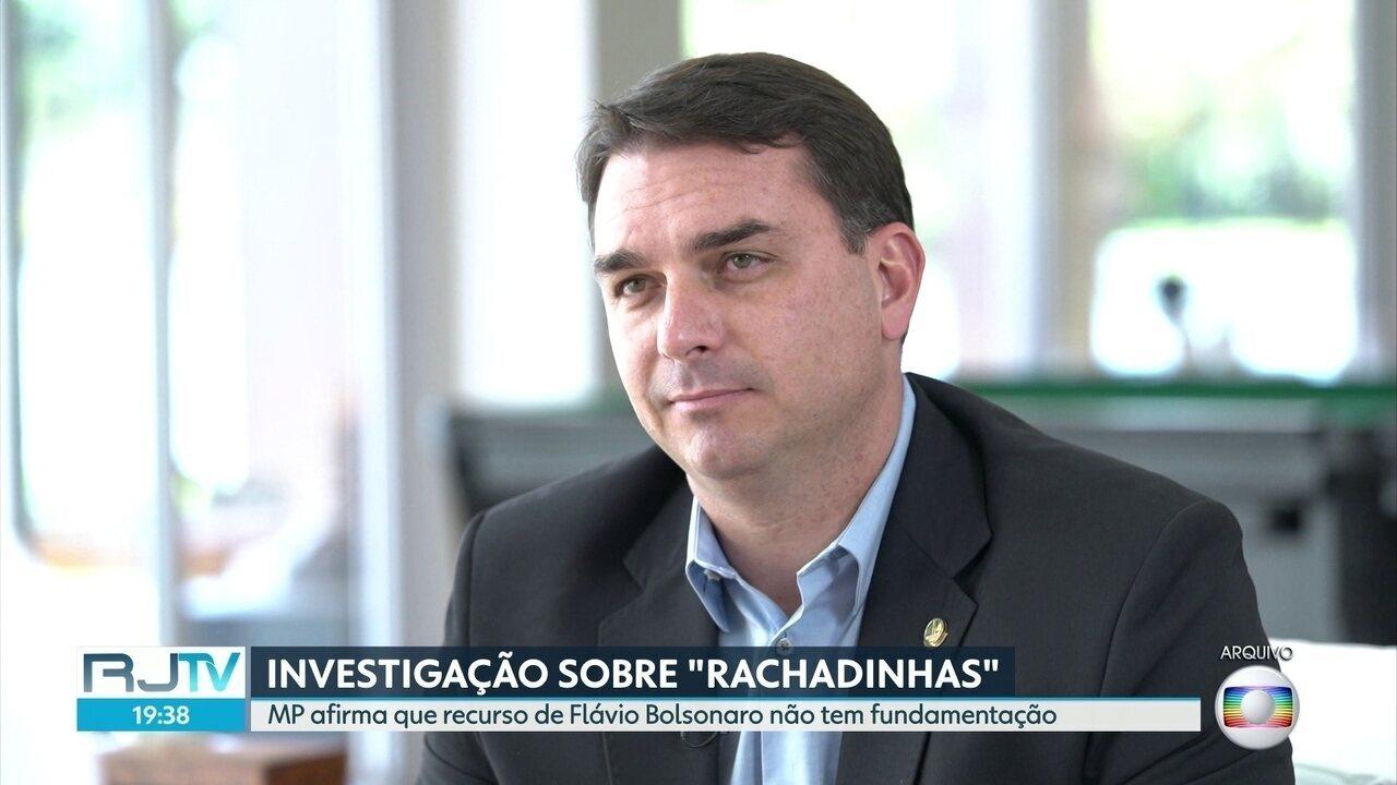Ministério Público contesta alegações de Flávio Bolsonaro no Superior Tribunal de Justiça