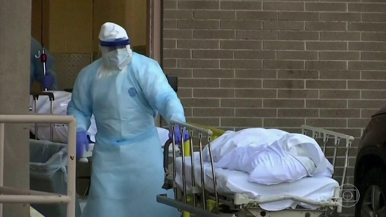 Estados Unidos têm quase um terço dos casos de coronavírus do mundo