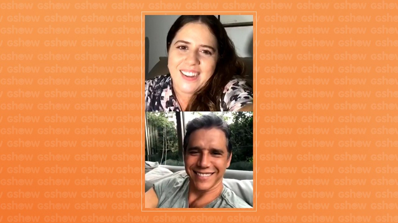 Marcio Garcia comemora volta do Tamanho Família