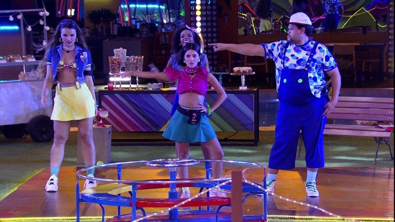 Na festa do BBB20, brothers dançam coreografia comandada por Manu