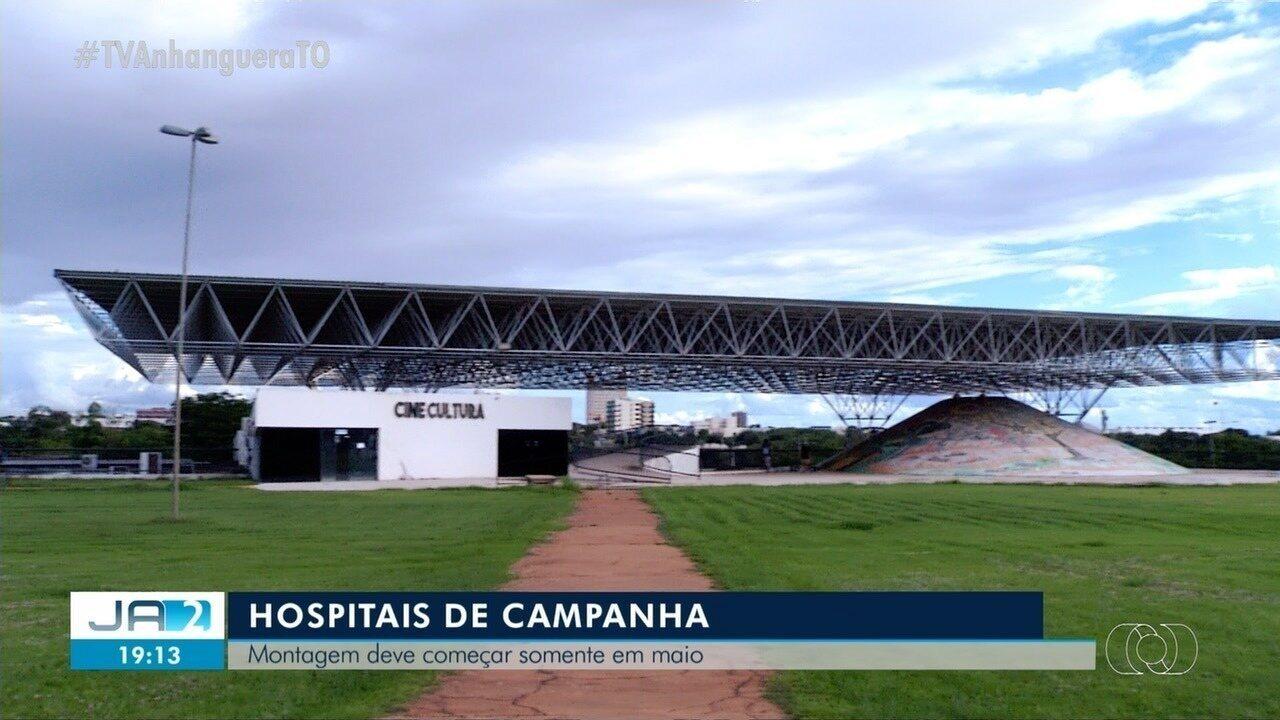 Hospitais de campanha devem ser montados no Tocantins no mês de maio