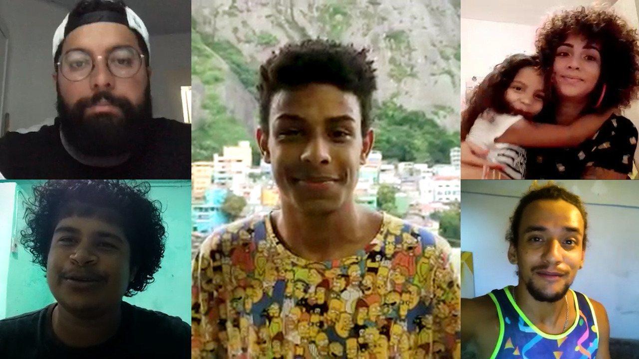 Jovens do Vidigal falam sobre o que sentem falta durante isolamento social
