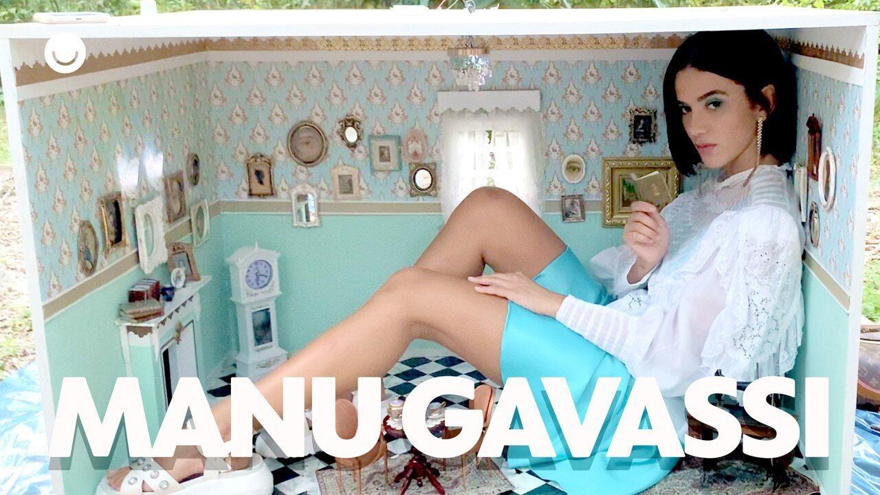 Confira os bastidores do ensaio de Manu Gavassi