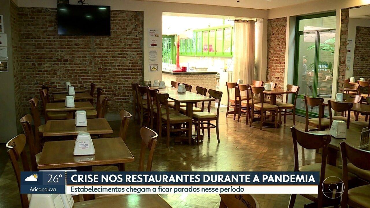 Restaurantes sofrem para se manter durante a quarentena