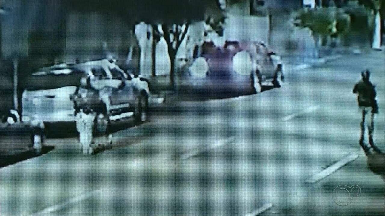 Polícia vai usar imagens para investigar assalto a banco em Ourinhos