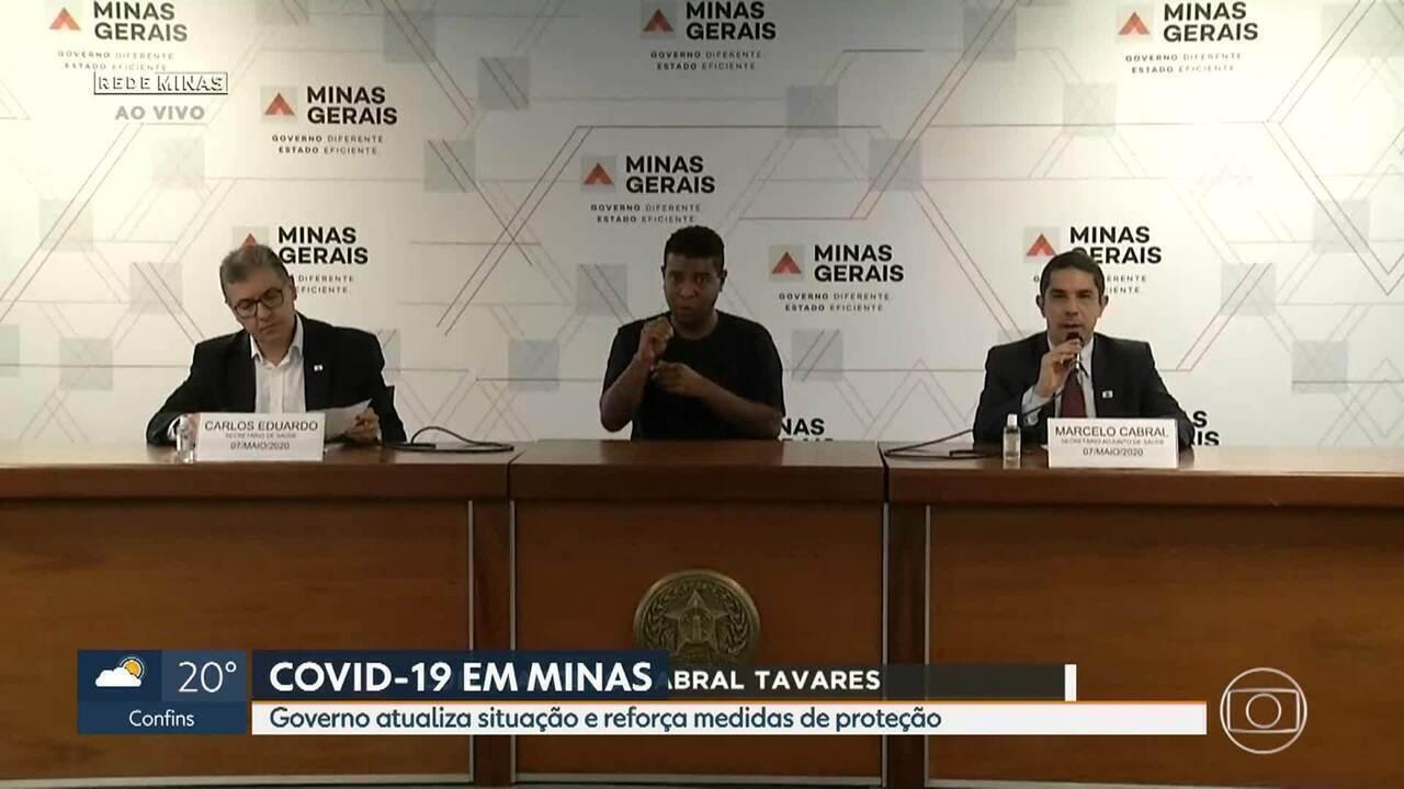 Covid-19: Secretaria de Saúde atualiza informações em Minas