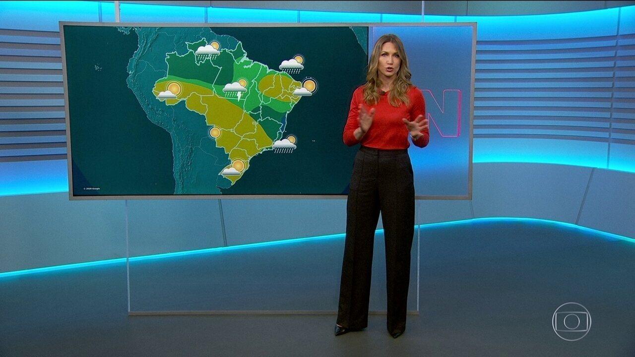 Veja como fica o tempo nesta sexta (8) em todo o Brasil
