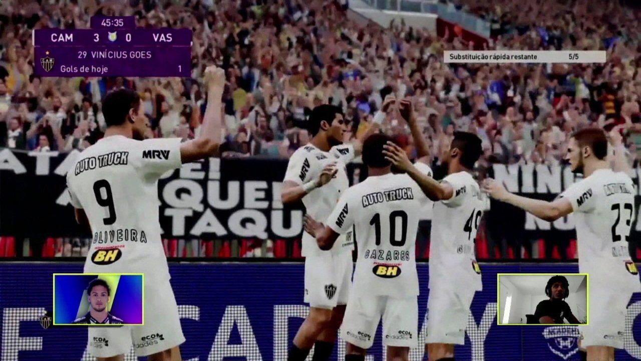 Melhores momentos: Atlético-MG (Guga) 3 x 0 (Talles) Vasco pelo Futebol de Casa