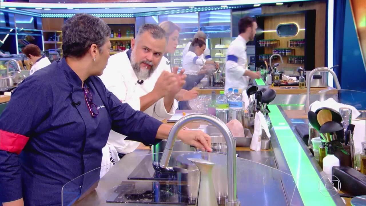Kátia e Francisco confessam gosto pela emoção na cozinha