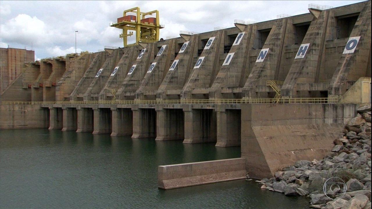 Reservatório de Sobradinho beira a capacidade máxima no sertão da Bahia