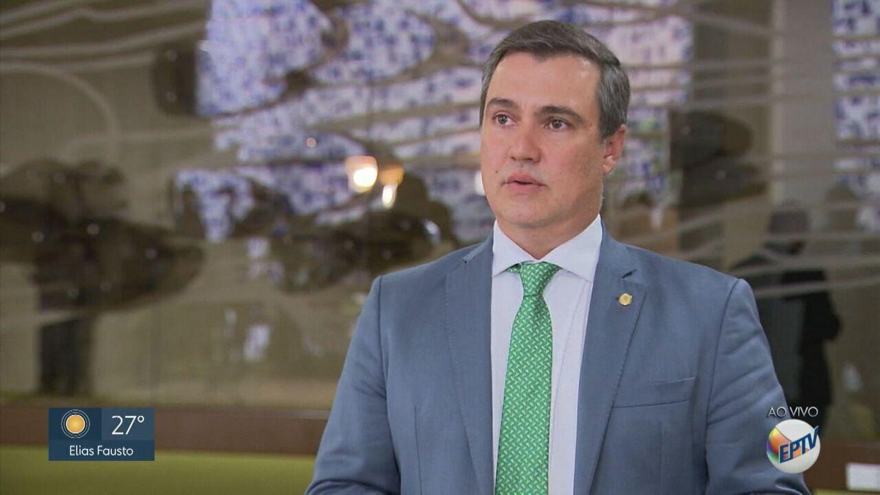Deputado federal Luiz Lauro Filho sofre infarto e é internado em hospital de Campinas