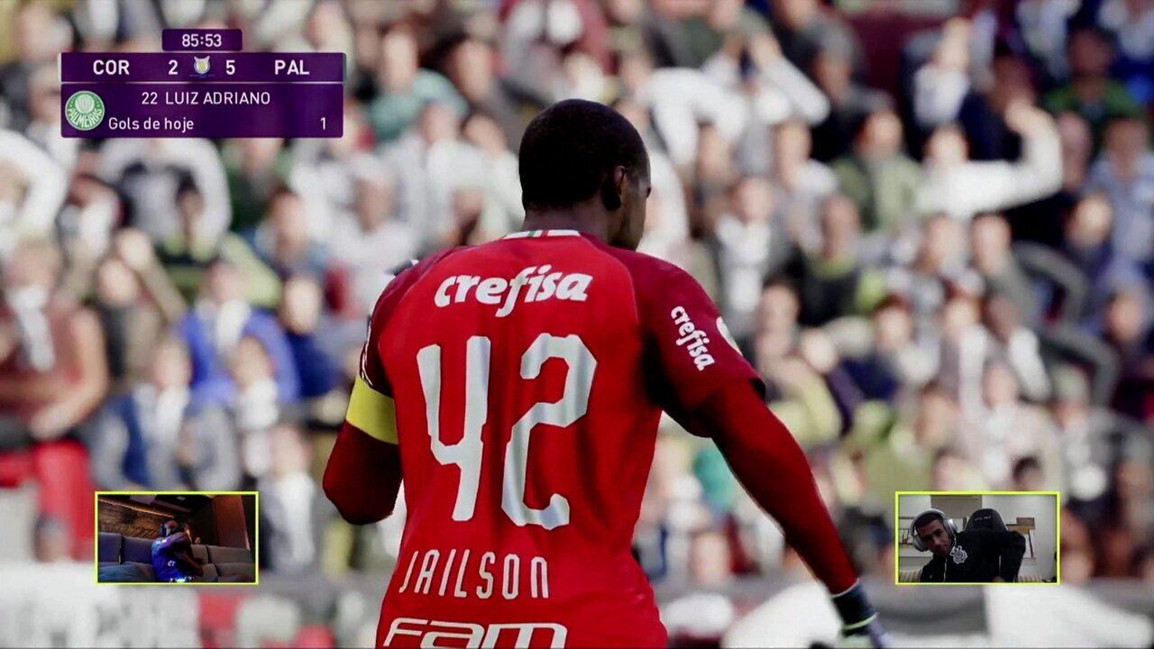 Melhores momentos: Palmeiras (Jailson) 5 x 2 (Gabriel) Corinthians pelo Futebol de Casa
