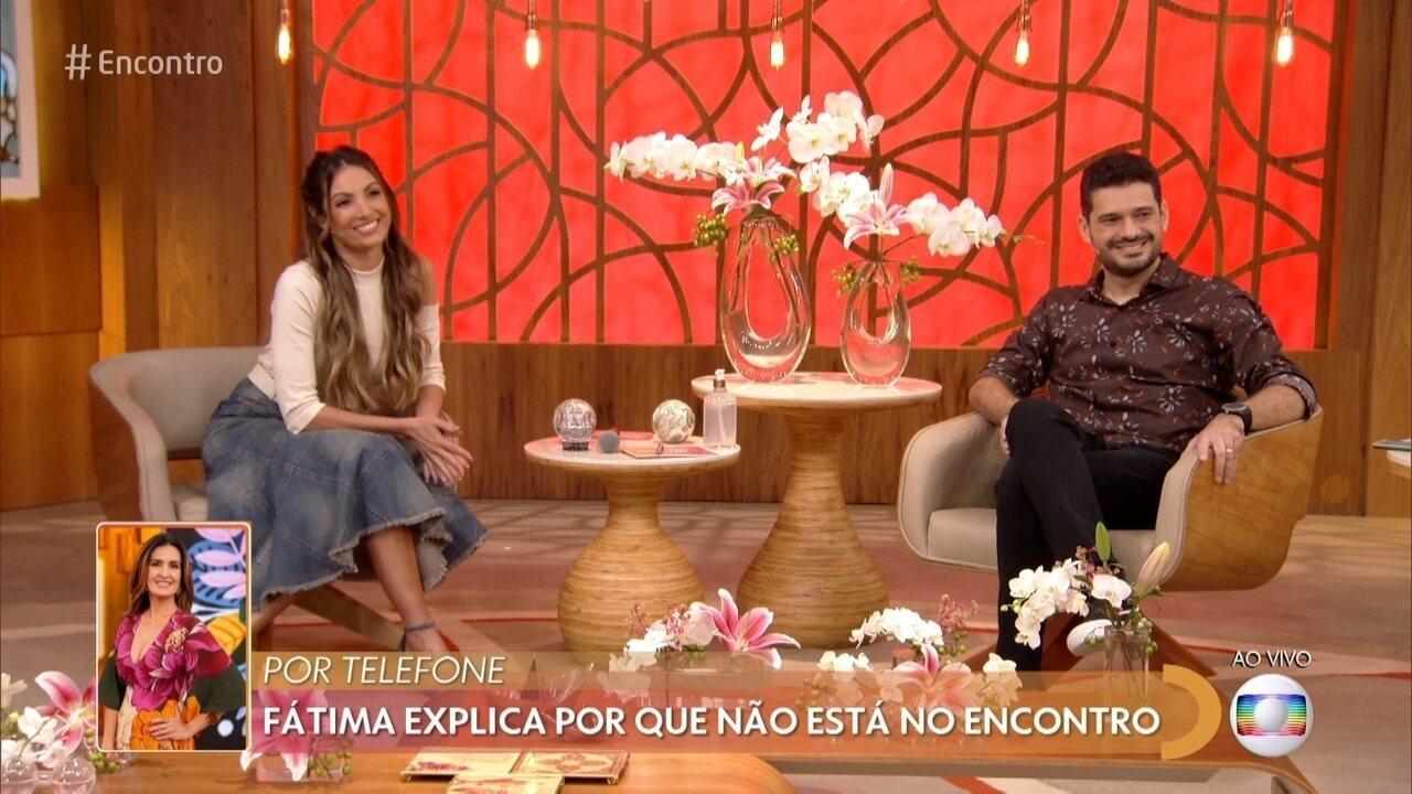 Fátima explica por que não está no Encontro