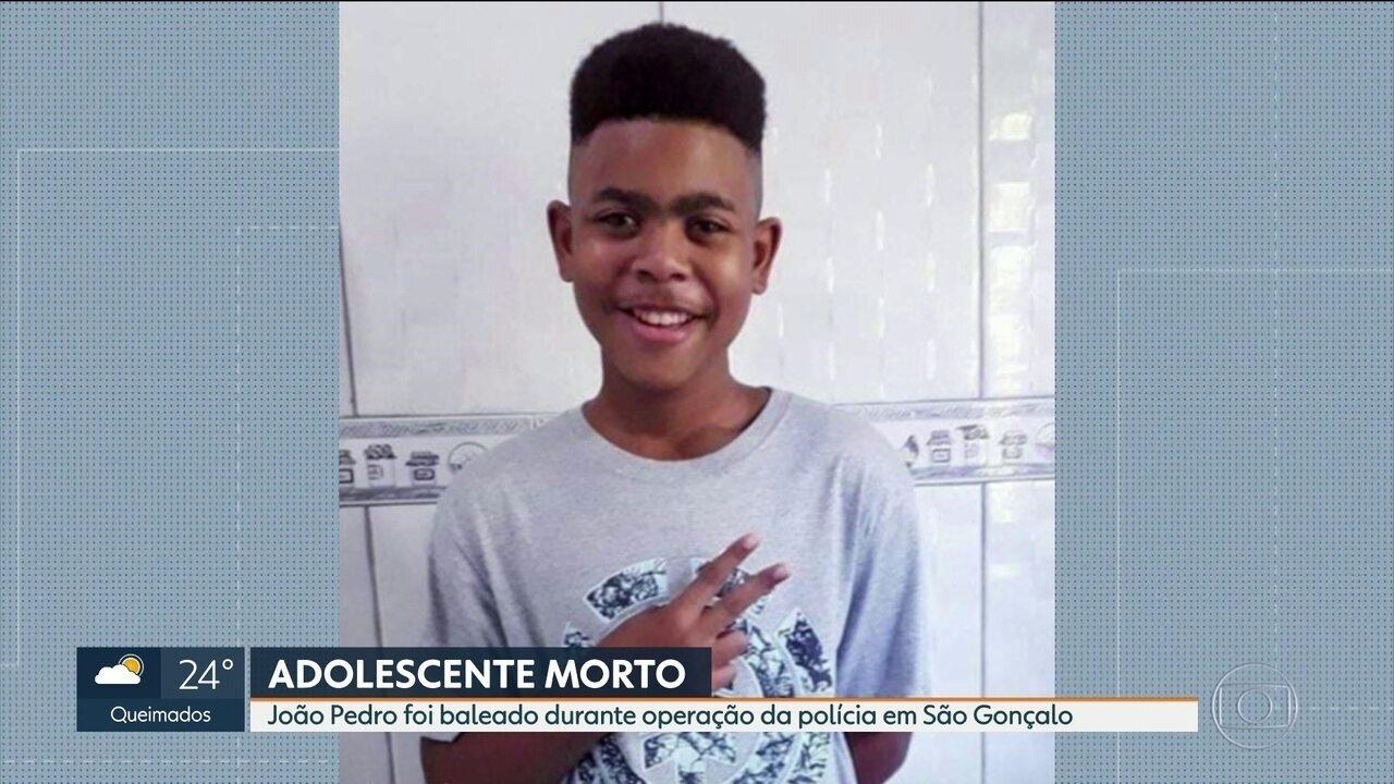 Adolescente é baleado durante operação da polícia em São Gonçalo