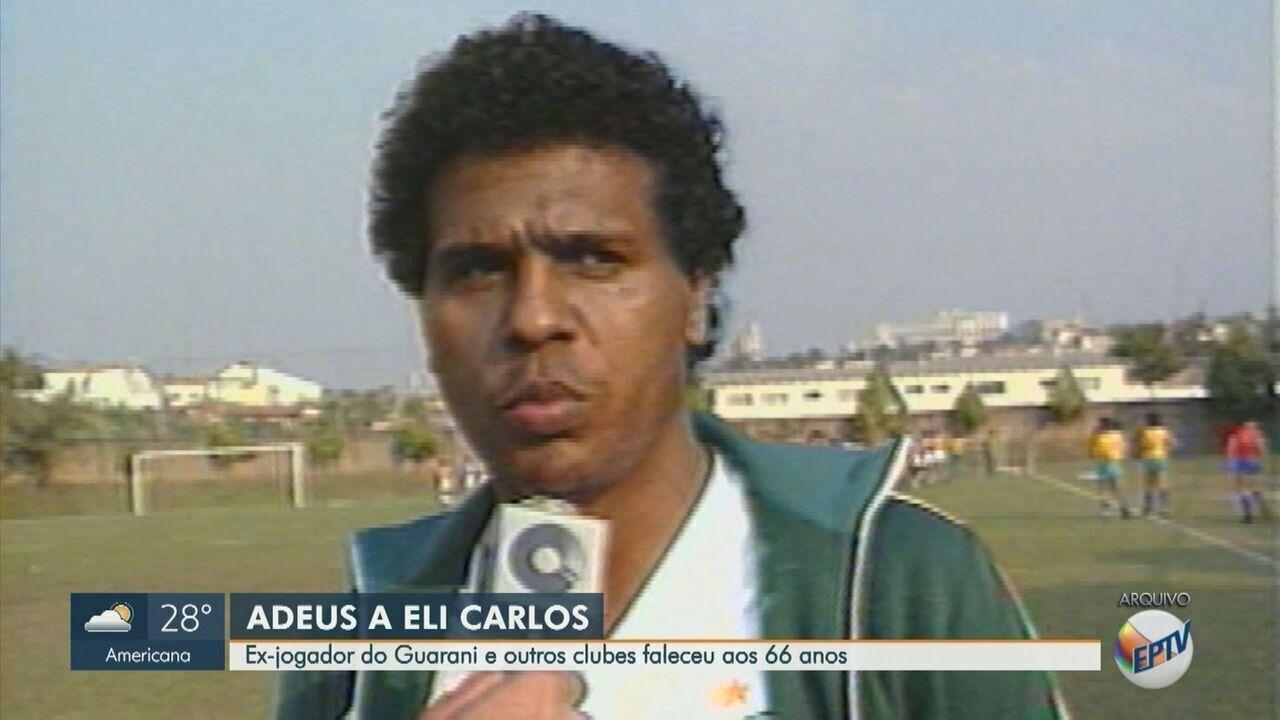 Ex-jogador do Guarani, Eli Carlos morre aos 66 anos