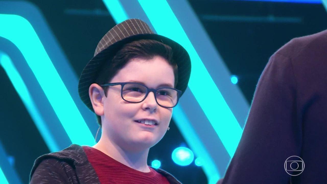 Pedro Melim conta como é ser autista no 'Pequenos Gênios'