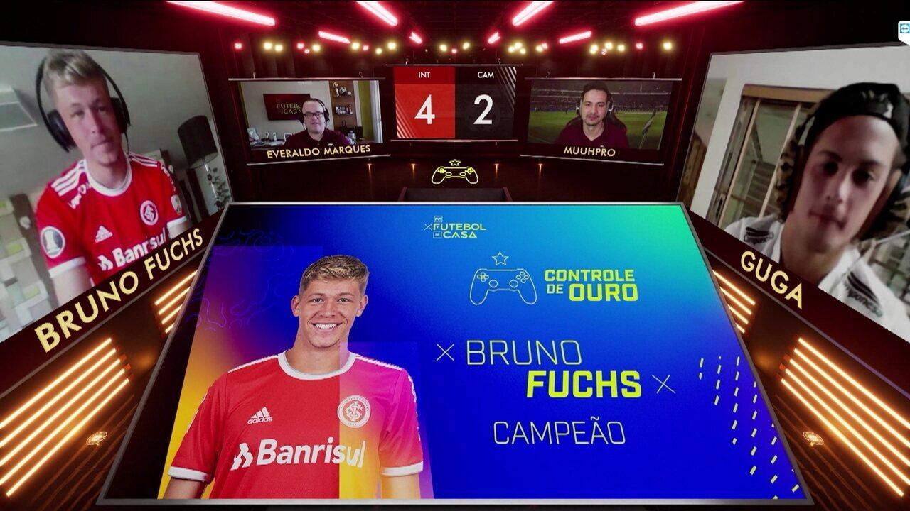 Bruno Fuchs comenta a vitória no Controle de Ouro