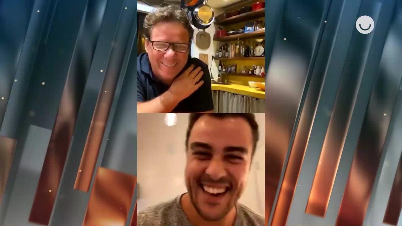 Claude Troisgros e Joaquim Lopes cozinham em live