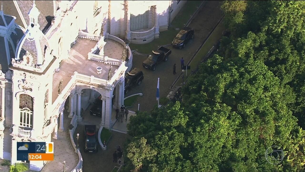 Operação Placebo: PF faz buscas no Palácio Laranjeiras e mais 11 endereços