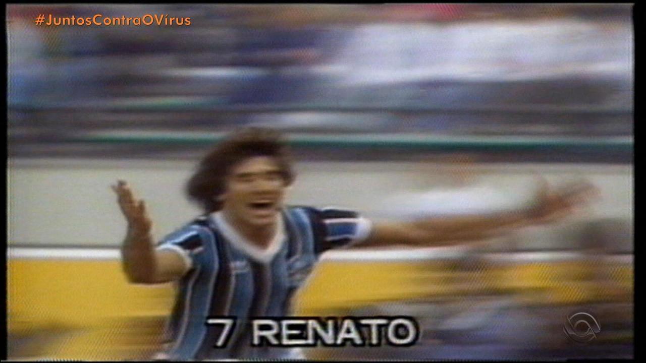 Viagem no tempo relembra 1983, ano da conquista do título mundial do Grêmio