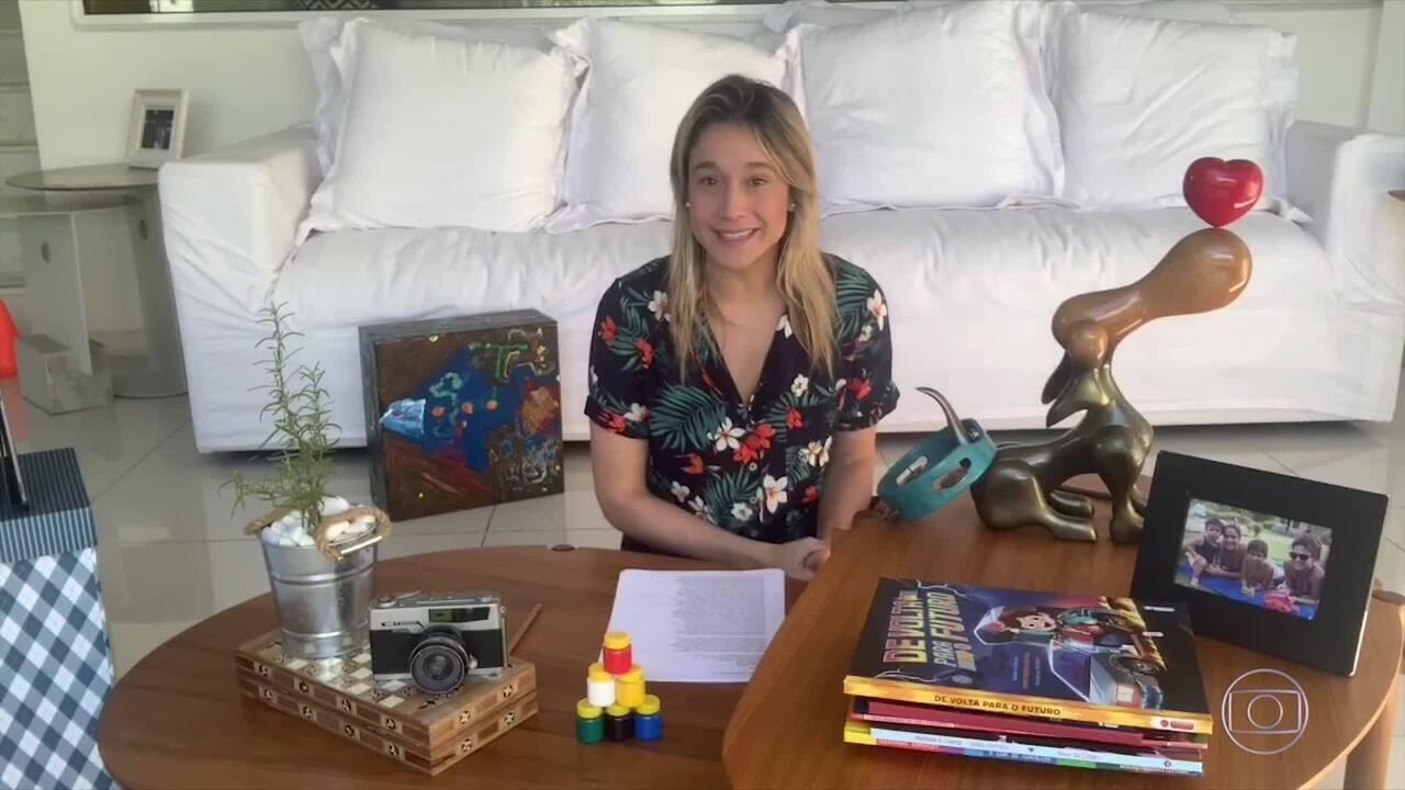 Mundo Gentil: Fernanda Gentil dá dicas em tempos de isolamento social