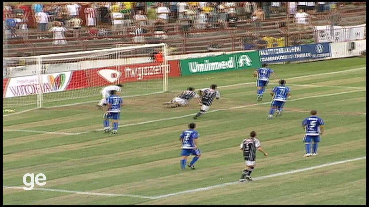 Os lances de Vitória-ES 0 x 0 Rio Branco-ES, pelo Campeonato Capixaba 2010