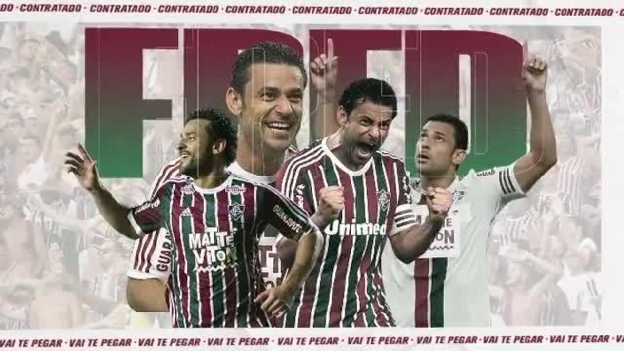 Fluminense anuncia volta do Fred ao clube