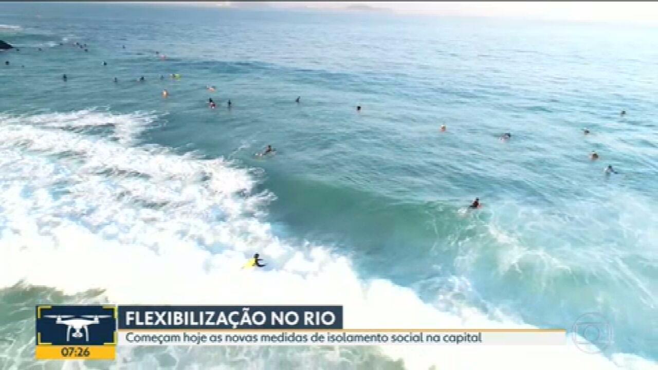 Prefeitura libera atividades físicas em calçadões de praias a partir desta terça (2)