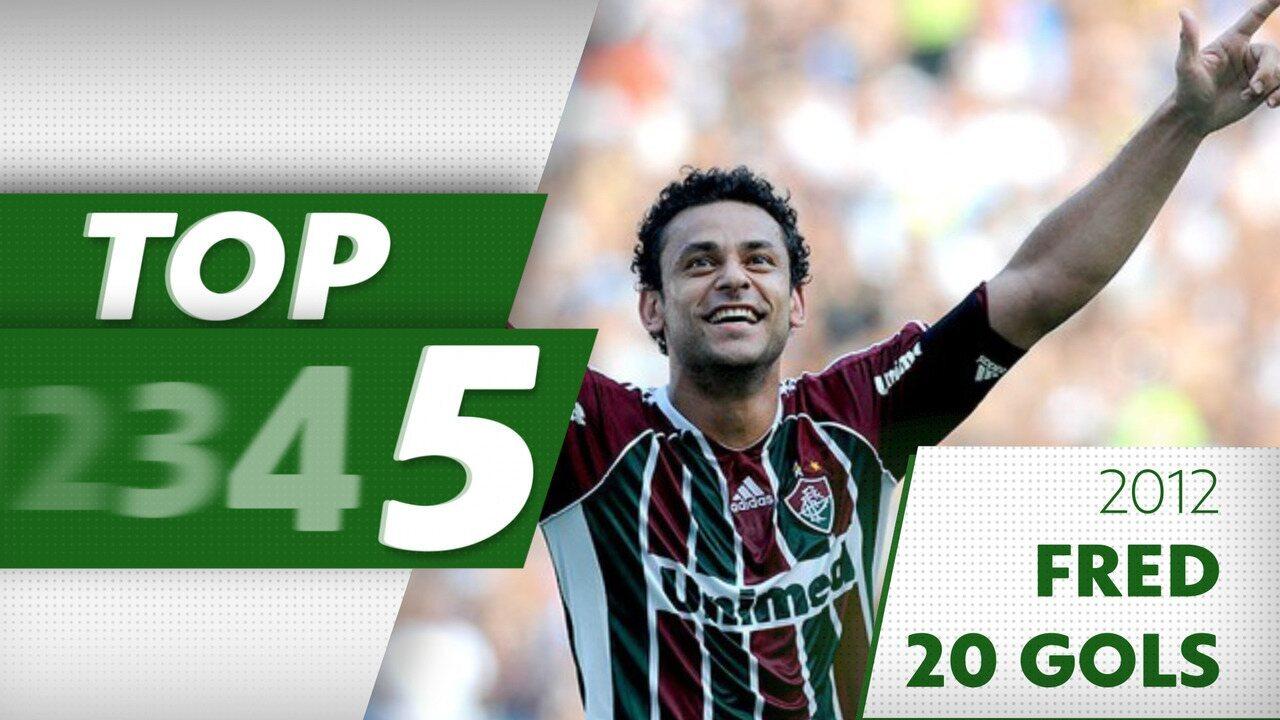 Top de gols artilheiros do Brasileirão: Fred 2012