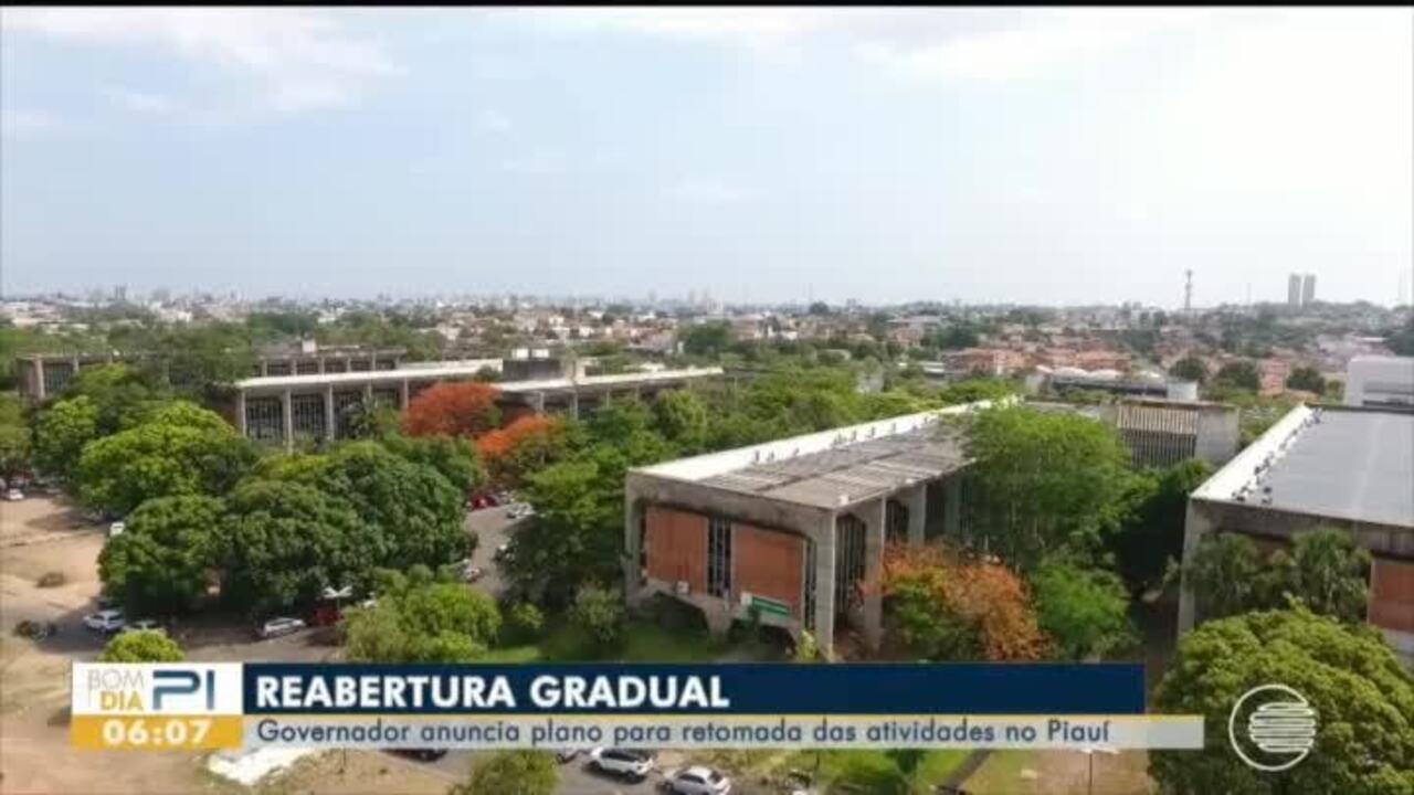 Governo do Piauí anuncia plano para retorno de atividades não essenciais no estado