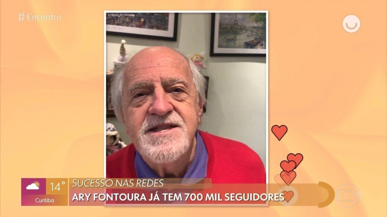 Ary Fontoura arrasa nas postagens durante a quarentena