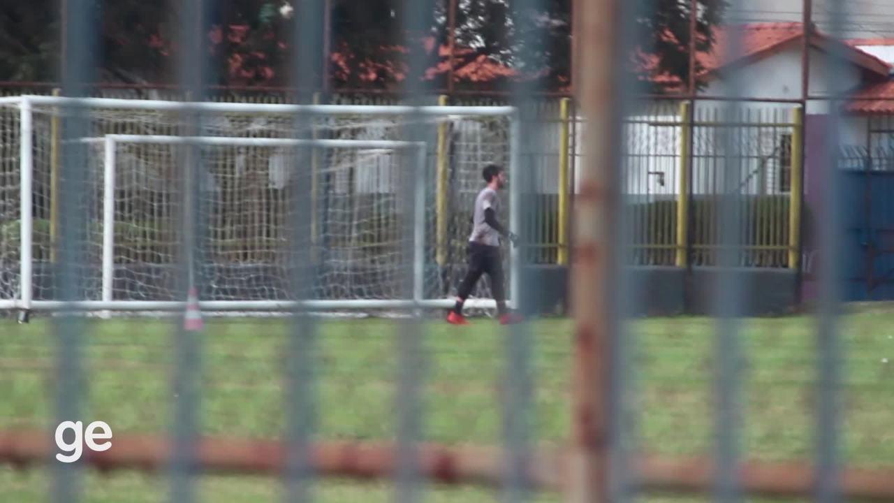 Sem autorização, Oeste volta a treinar em Barueri