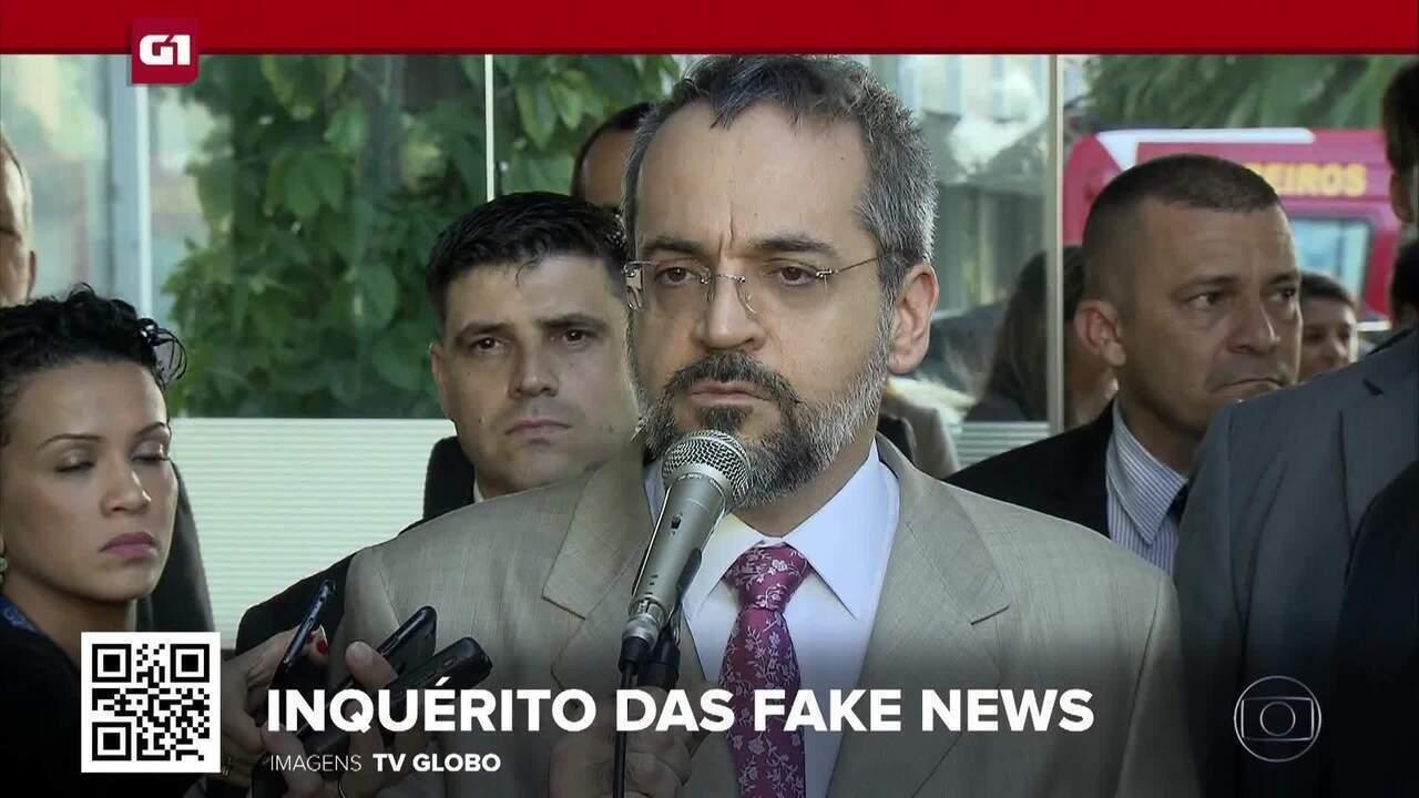 G1 em 1 Minuto: STF decide manter ministro Abraham Weintraub do inquérito das fake news