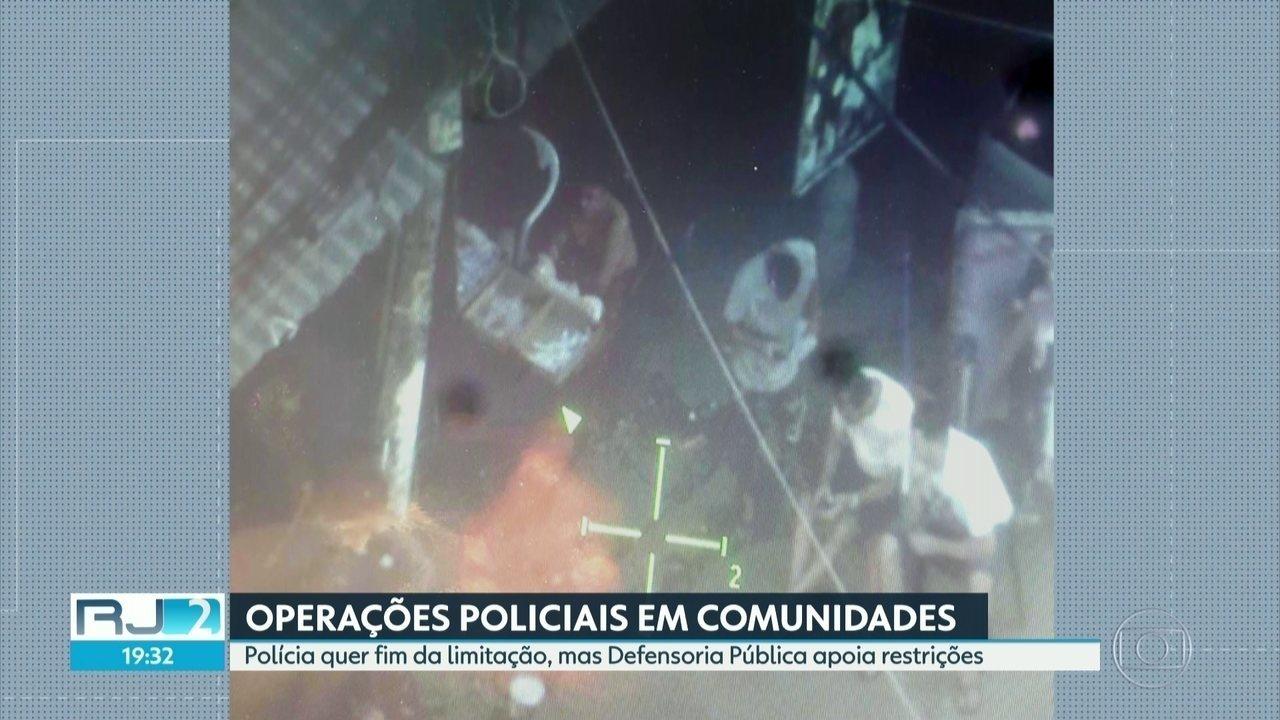 Polícia quer fim da limitação de ações em favelas, mas Defensoria Pública apoia restrições