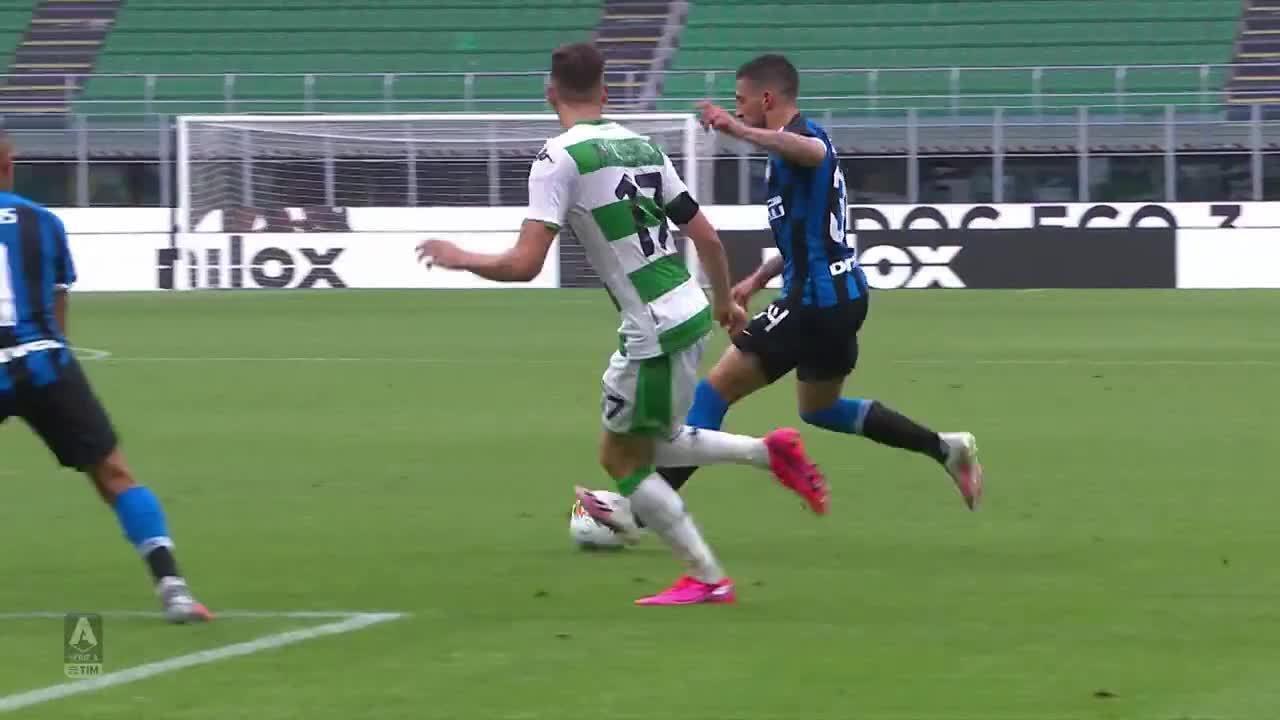 Os gols de Inter de Milão 3 x 3 Sassuolo pelo Campeonato Italiano