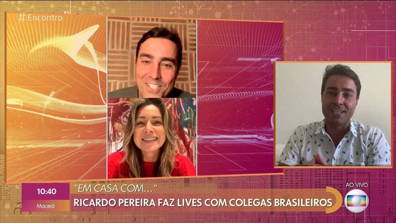 Ricardo Pereira está com a família em Portugal