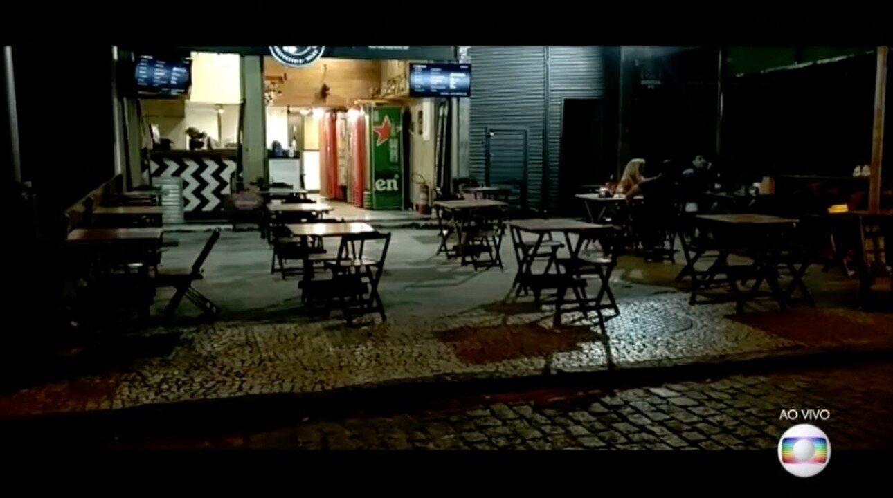 No segundo dia de reabertura dos bares, cidade do Rio não tem aglomerações