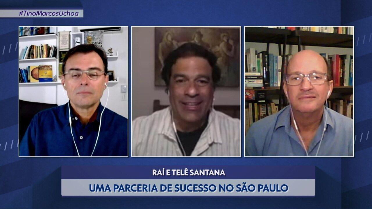 """Raí diz que se tornou jogador mais completo com Telê: """"Me tirava do jogo para me provocar"""""""
