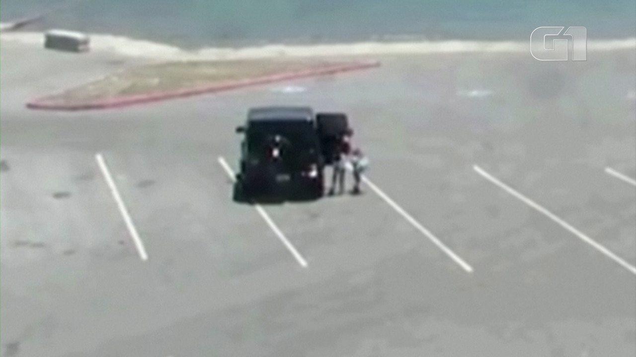 Câmeras mostram Naya Rivera alugando barco na com o filho nos Estados Unidos