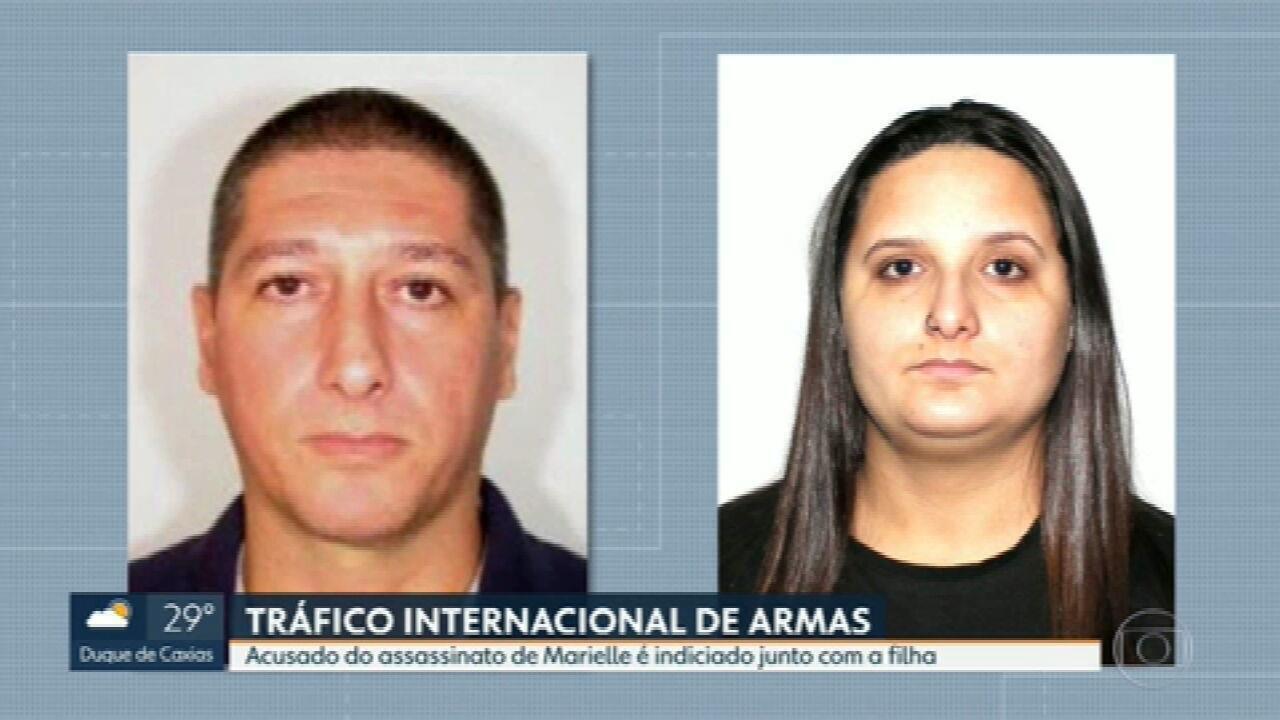 Homem apontado como assassino de Marielle Franco é indiciado por tráfico internacional de armas
