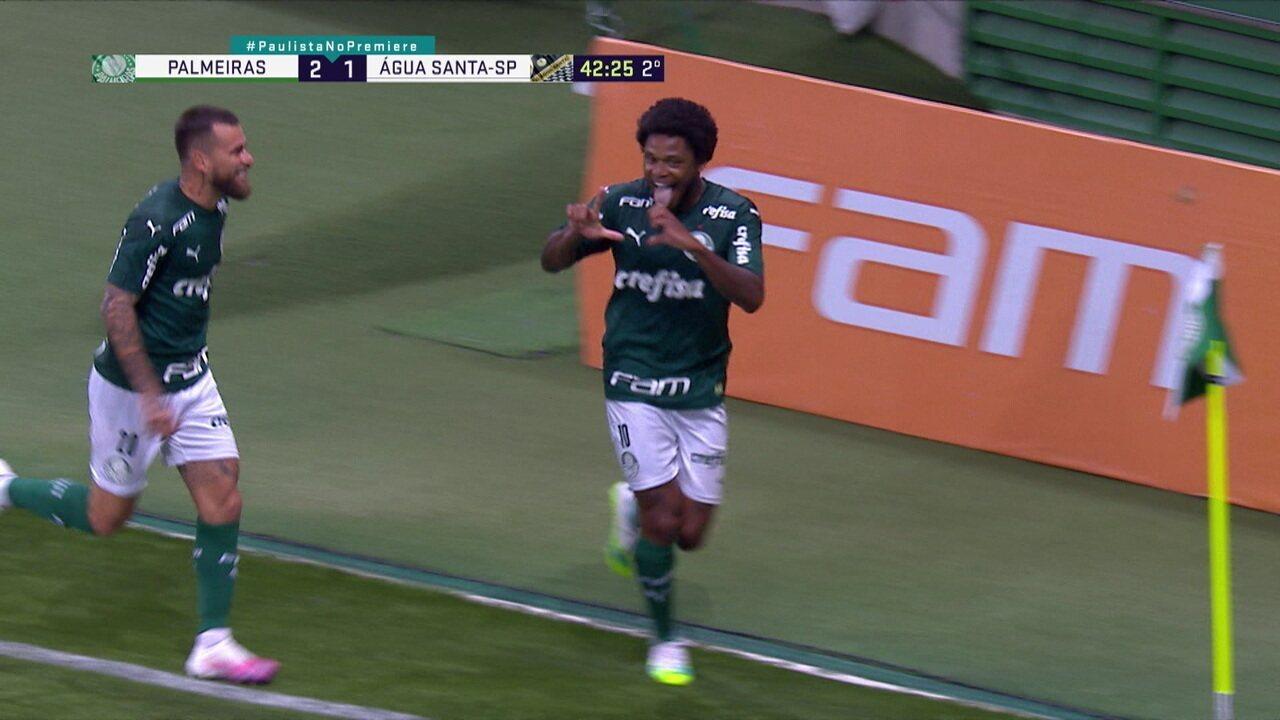 Melhores momentos de Palmeiras 2 x 1 Água Santa pelo Campeonato Paulista