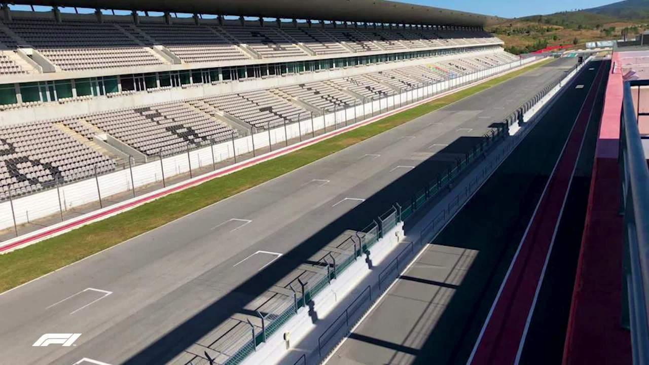 Imagens do Autódromo Internacional do Algarve, em Portimão, sede do GP de Portugal