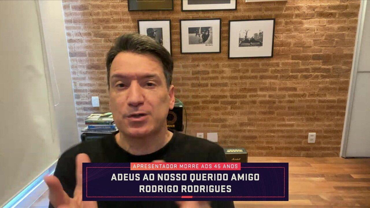 """Luiz Carlos Jr. lembra gosto pelo rock e índole de Rodrigo Rodrigues: """"Era o cara de 1 milhão de amigos"""""""