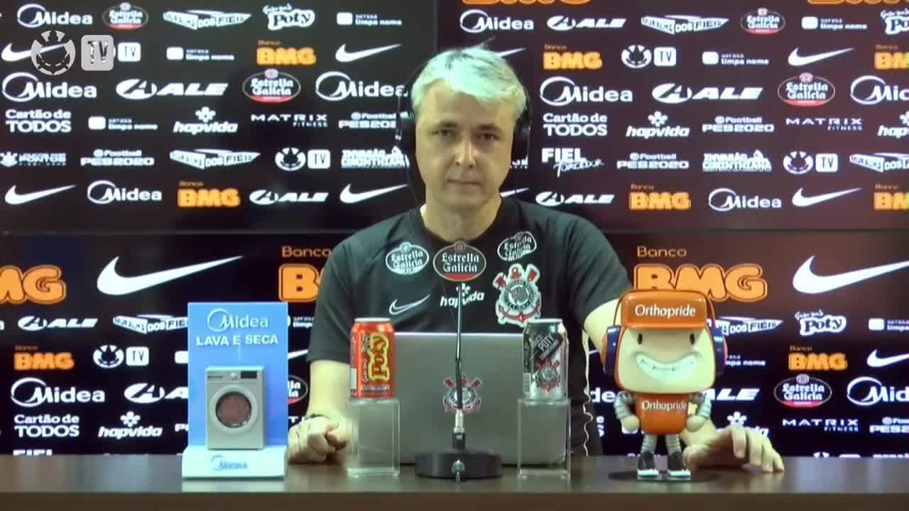 Veja a coletiva de imprensa do técnico Tiago Nunes desta quarta-feira