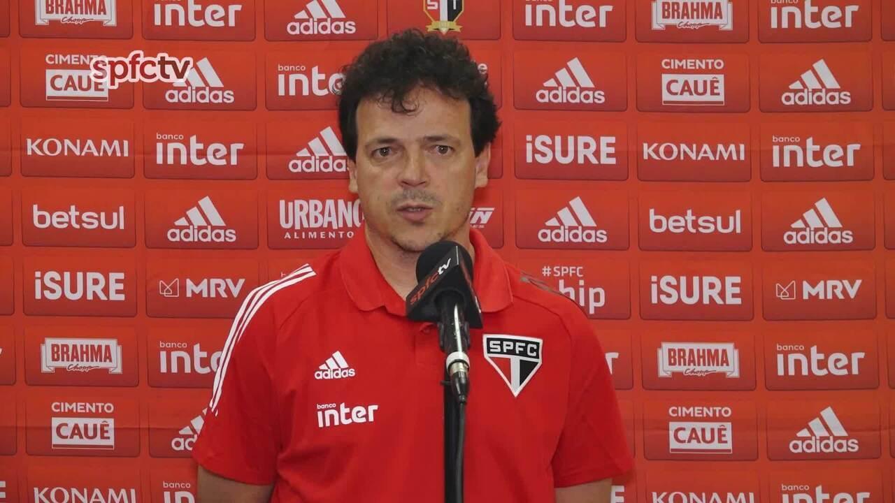 Veja a entrevista coletiva de Fernando Diniz após São Paulo 2 x 3 Mirassol