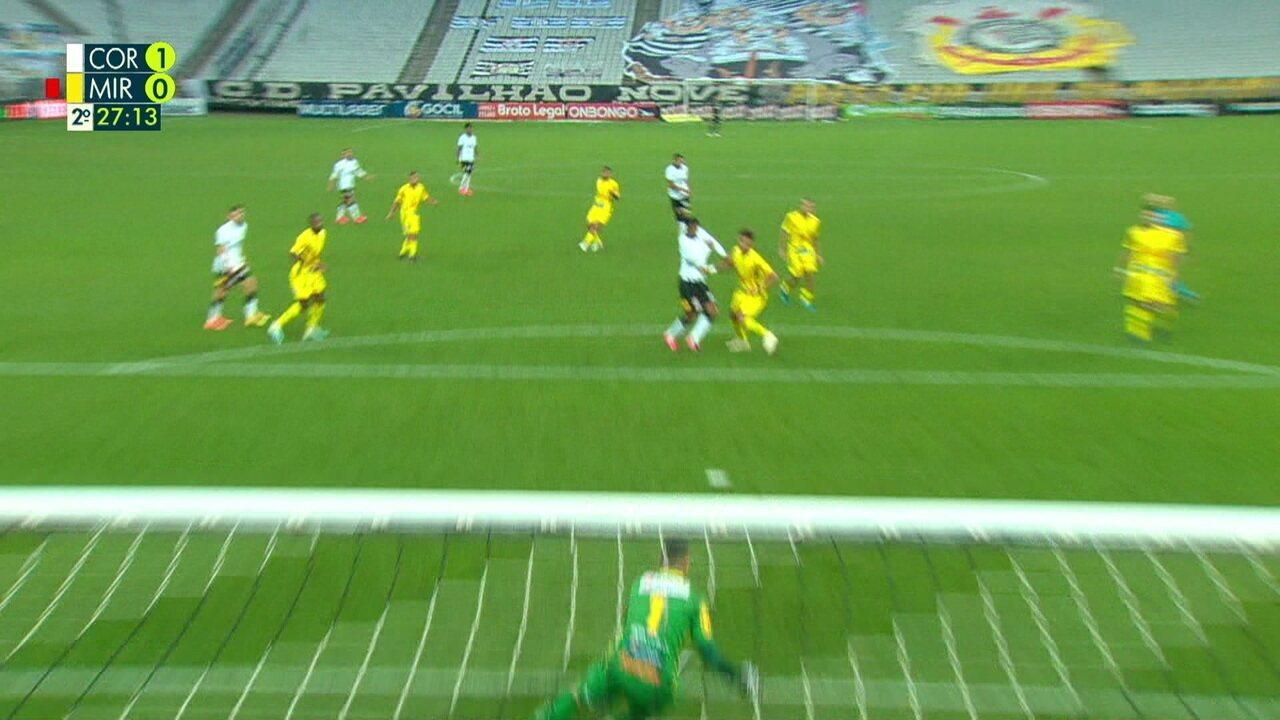 Melhores momentos: Corinthians 1 x 0 Mirassol pelas semifinais do Paulistão 2020