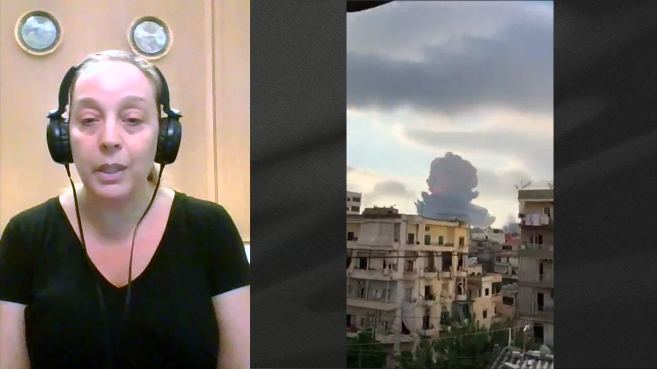 Brasileira que vive em Beirute diz que dia foi 'assustador'