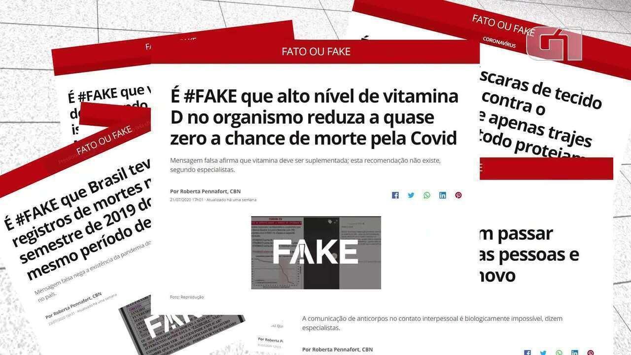Fato ou Fake chega a 300 checagens sobre o coronavírus