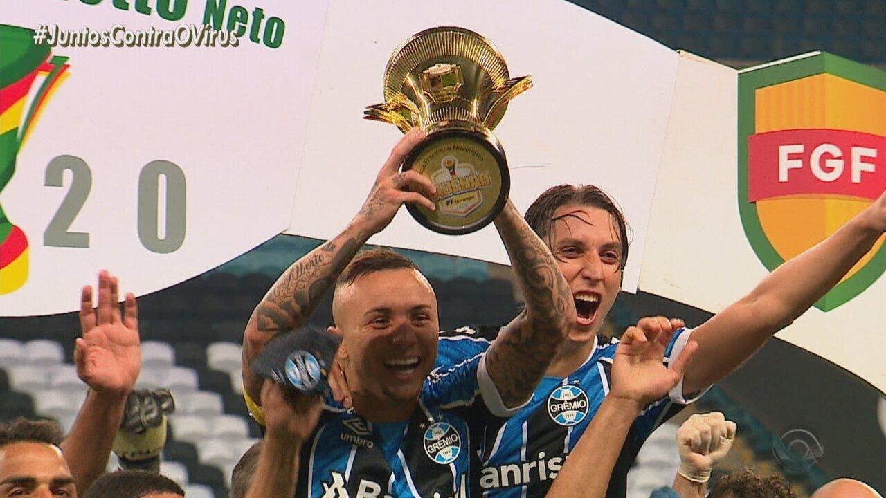 Everton jogou pela última vez com a camisa do Grêmio no último Gre-Nal